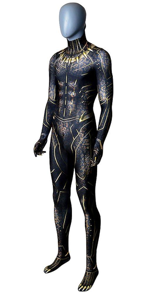Amazon.com: ourworth Pantera Negra disfraz killmonger ...