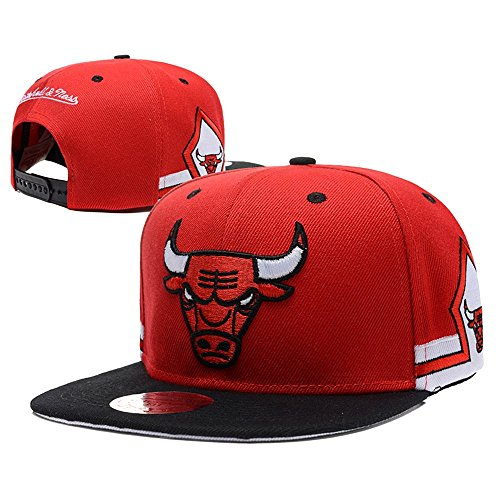 Isymeotu-TY Unisex Adjustable Fashion Leisure Baseball Hat Chicago Bulls Snapback Dual Colour Cap