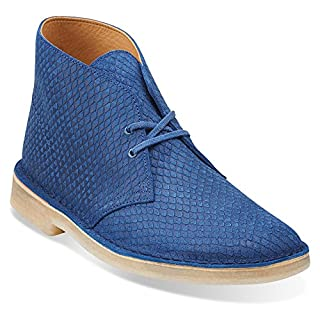 Clarks Men's Desert Boot,Blue Snake Leather,US 9 M (B00TYZ1HEK) | Amazon price tracker / tracking, Amazon price history charts, Amazon price watches, Amazon price drop alerts