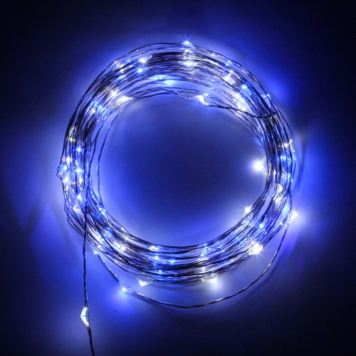 SINOLLC 10M 100LEDs USB DC 5V Light String DIY Novelty LED Lights For  Celebration Music Concert Wedding Birthday Party Kitchen Dinning Room  Festival ...