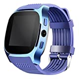 OLSUS T8 Wireless Smart Watch with Camera, Music Player for Android - Blue
