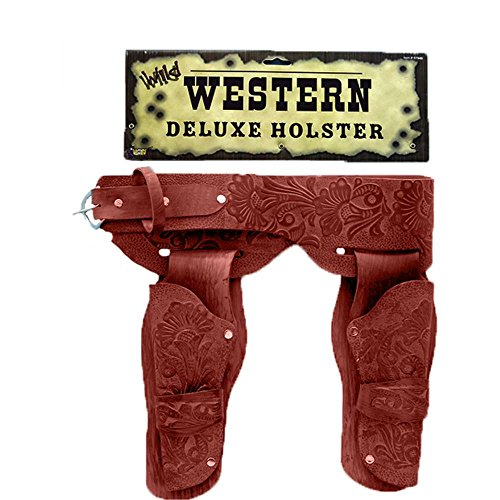 Deluxe Western Costume Belt Holsters