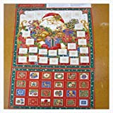 Dashwood Advent calendar panel sew it your self kit with wadding /& backing