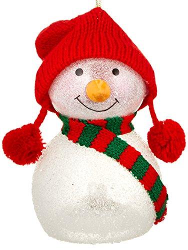 Lenox Wonder Ball Snowman Red Knit Hat ()
