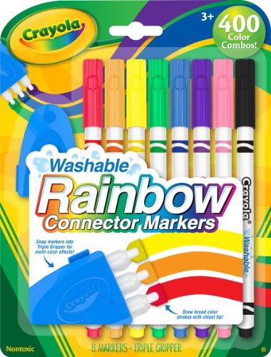 Crayola Washable Rainbow Markers