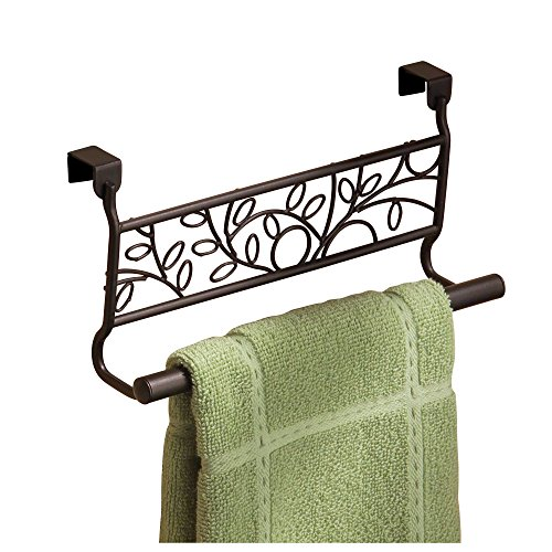 InterDesign Twigz Over-the-Cabinet Kitchen Dish Towel Bar Holder - 9