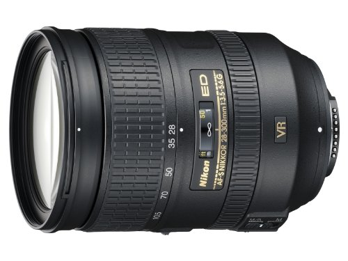 Nikon AF-S FX NIKKOR 28-300mm f/3.5-5.6G ED Vibration Reduction Zoom Lens with Auto Focus for Nikon DSLR Cameras (Best Lenses For Nikon Dx Format)