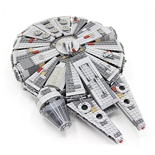 Millennium Falcon Inspired Building Blocks Set (1,381 pcs) 100% Compatible with LEGO Star Wars Sets!