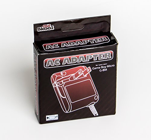Old Skool Game Boy Micro AC Wall Charger - Game Boy Advance