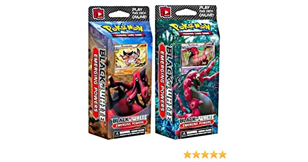 Pokemon Trading Card Game Emerging Powers BW2 Theme Deck Toxic Tricks Scolipede NA