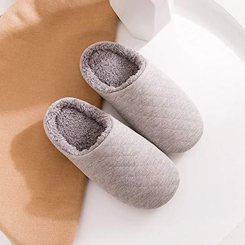 Con Casa 44 Adatto Lianaio Pantofole Mezza Calda Di 45 Cotone Invernale Confezione Piana E Semplice Per Leggera Adatta WpWzqZA4