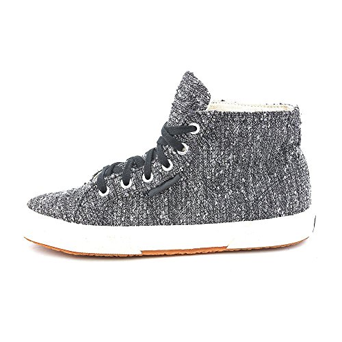 S008JP0 Lace Superga Hight Fashion Fabric Silver Top Womens Sneakers up 56BB7xRw