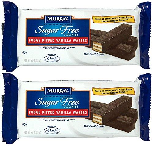 Murray Sugar-Free Fudge Dipped Vanilla Wafer Cookies - 5.5 oz - 2 pk (Free Sugar Cookies Murray)