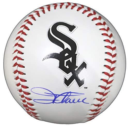 (Jim Thome Chicago White Sox Signed Autographed Rawlings Official Major League Logo Baseball COA)
