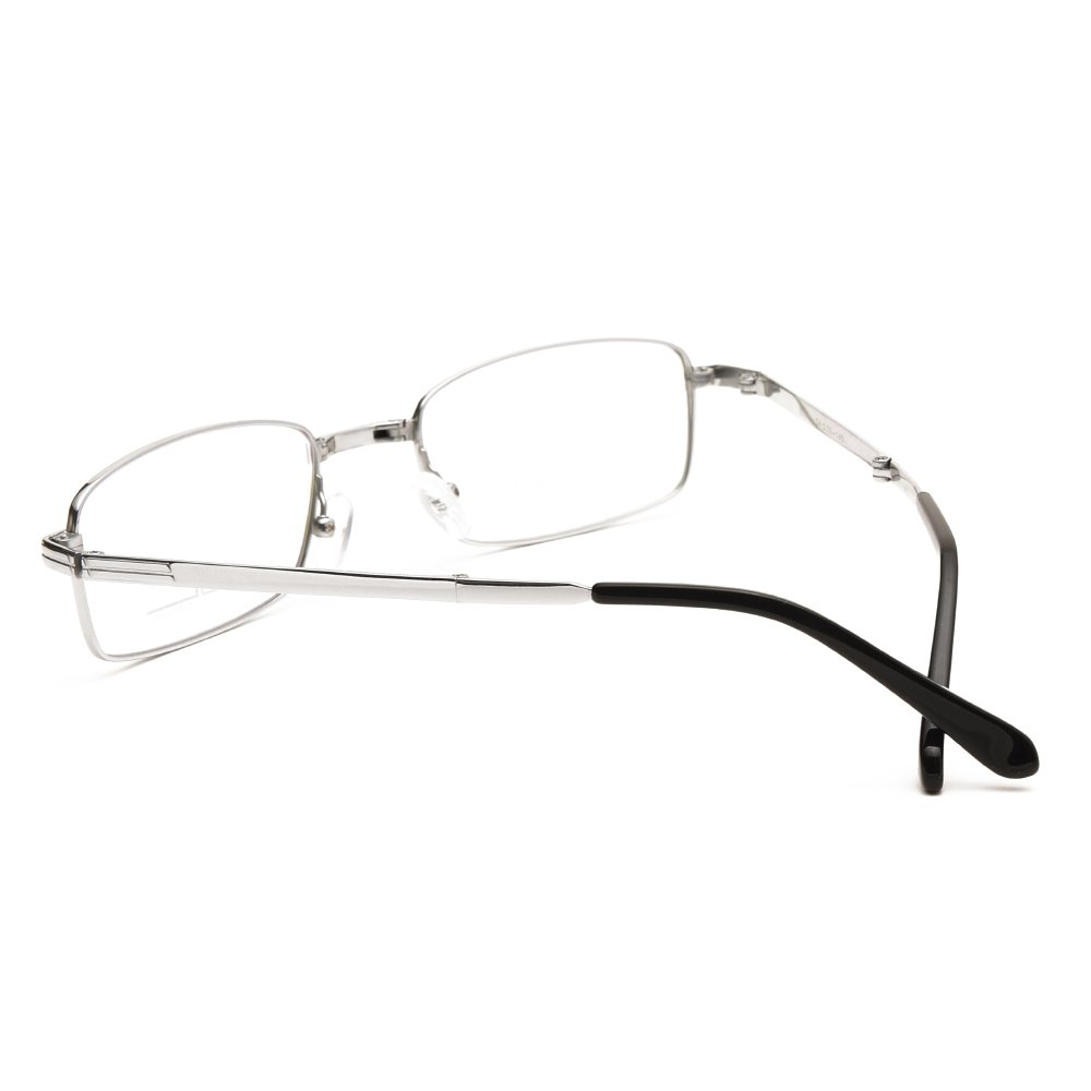 Langford Foldable Eyewear Glasses Pure titanium 54mm Clear Lens For Men With Case And Cleaning Cloth 3 Colors 6090
