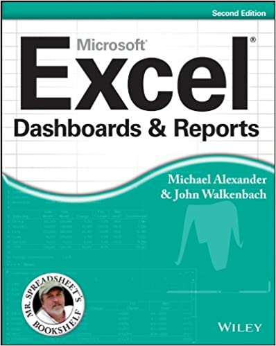 Amazon Com Excel Dashboards And Reports Mr Spreadsheet S