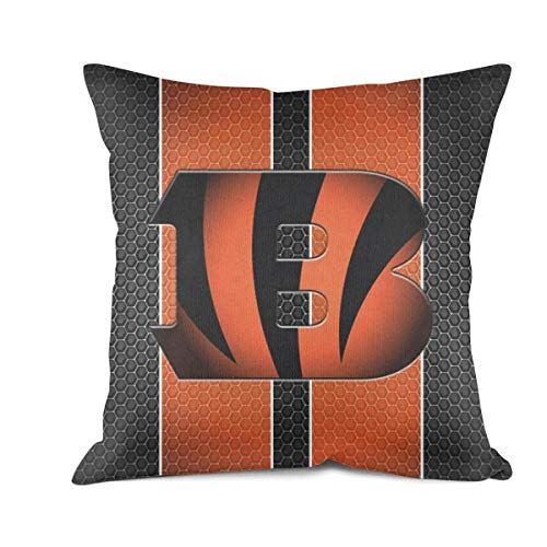 Koiedjmge Cool Square Pillowcase Art Decorative Cushion Cover 18x18 Inch ()