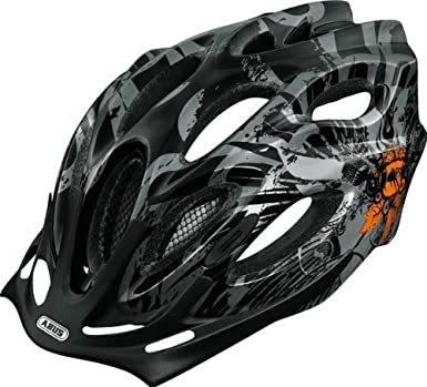 Abus Aduro - Casco de ciclista negro Sound orange Talla:M (54-58