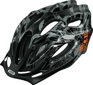 Abus Aduro - Casco de ciclista negro Sound orange Talla:M (54-58