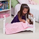 WOODEN DOLL BED by Melissa & Doug B