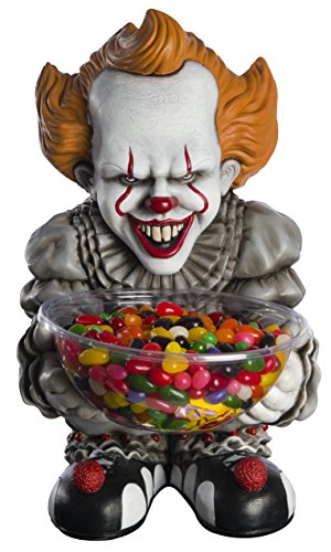 Rubie's 200147 It: Movie Candy Bowl Holder, Pennywise Party Supplies, Multicolor