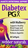 Webber Naturals Diabetex PGX with Mulberry Softgels Capsules
