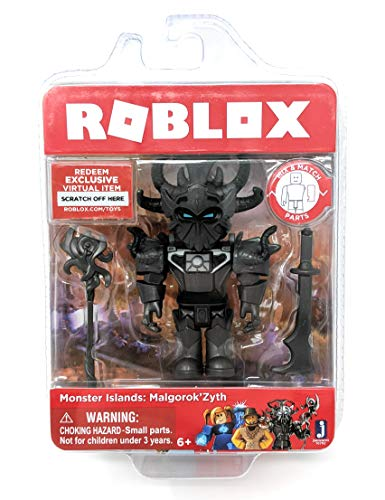 Roblox Monster Islands: Malgorok'Zyth Single Figure Core Pack with Exclusive Virtual Item Code (Item Code)
