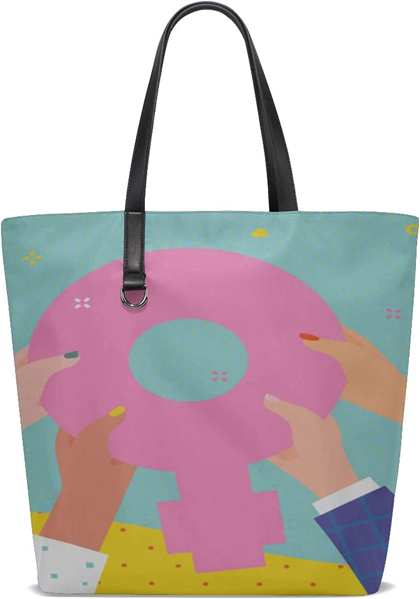 Womens Shoulder Bag Handle Satchel Carryon Tote Bags For Women Purse Messenger Bags Mens Over Shoulder Bag Concept Woman Power Women Hand Showing Printing Child Shoulder Bag