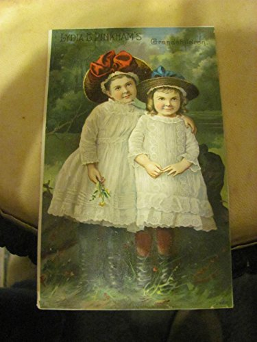 Victorian trade card--Lydia Pinkham's Vegetable Compound, her grandchildren, c. 1900