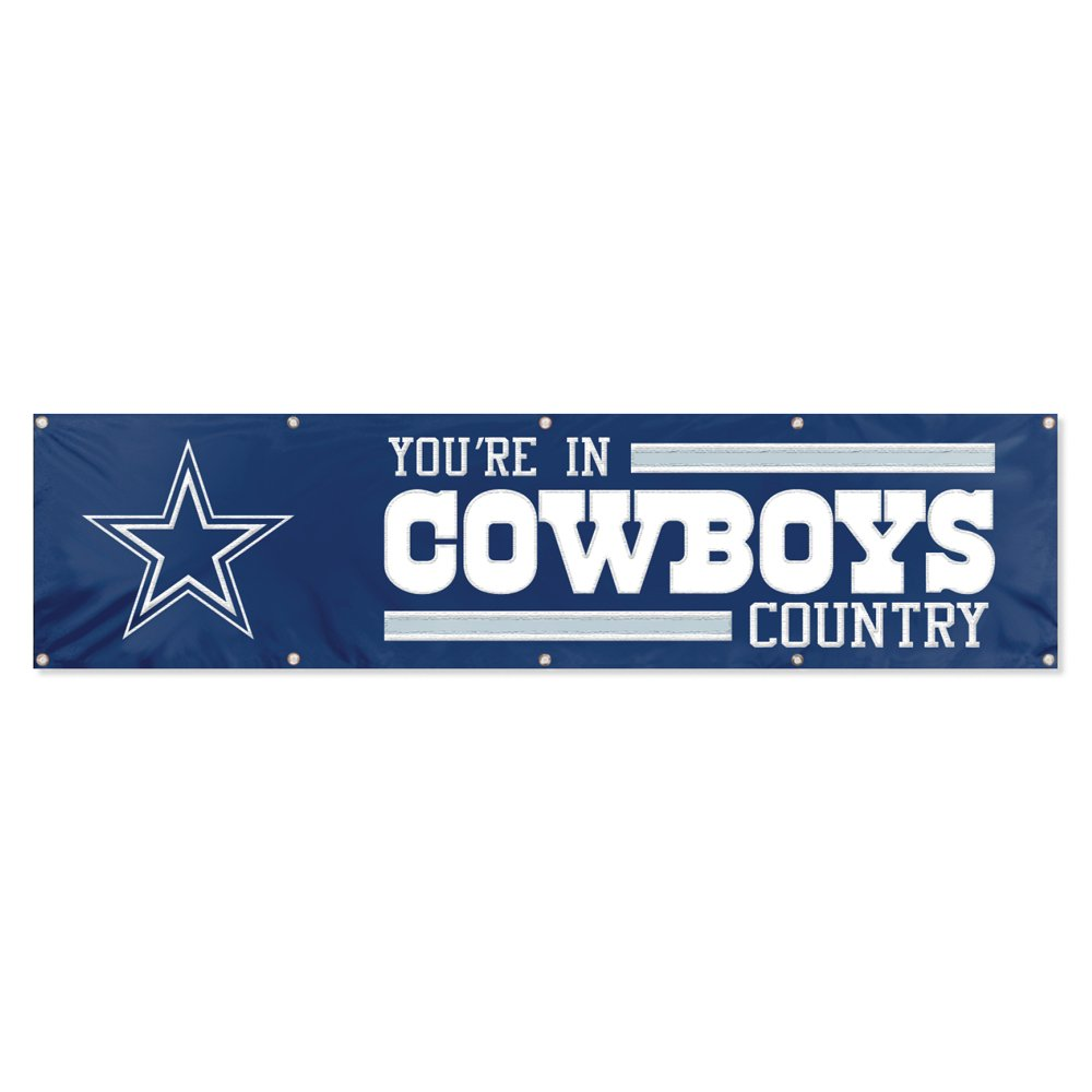 Party Animal Dallas Cowboys 8'x2' NFL Banner by Party Animal
