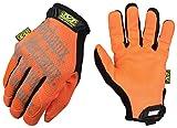 Mechanix Wear - Hi-Viz Original Gloves (Large, Fluorescent Orange)