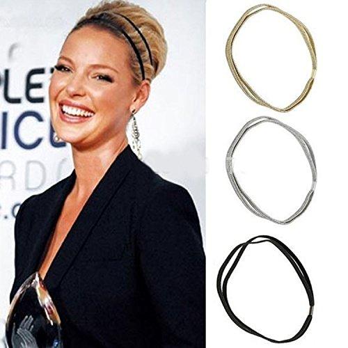 Shimmer Fashion Glitter Elastic Headband product image