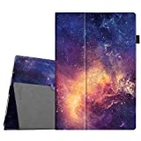 Fintie Microsoft Surface Pro 2017 / Surface Pro 4 Case - Premium PU Leather Folio Stand Cover w/ Stylus Holder for New Surface Pro / Surface Pro 4 3, Compatible with Type Cover Keyboard, Galaxy