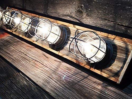 4 bulkhead fixture nautical bathroom custom vanity light