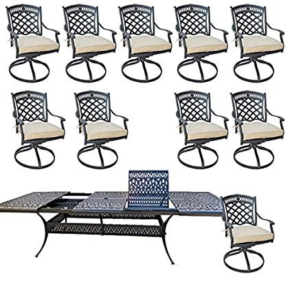 Merveilleux Image Unavailable. Image Not Available For. Color: 11 Piece Outdoor Dining  Set ...