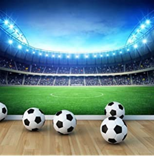 Amazing Football Stadium Wall Mural Photo Wallpaper Boys Kids Bedroom Playroom (X  Large 1900mm X 1488mm