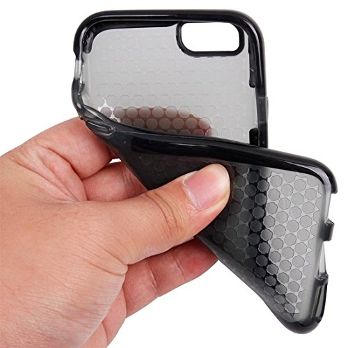 Phone Taschen & Schalen Für iPhone 6 Plus & 6s Plus Honeycomb Texture TPU Schutzhülle ( Color : Black )