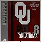 University of Oklahoma Sooners 2018 Academic Calendar