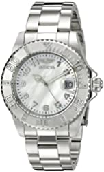 Invicta Women's 21532SYB Pro Diver Analog Display Swiss Quartz Silver Watch