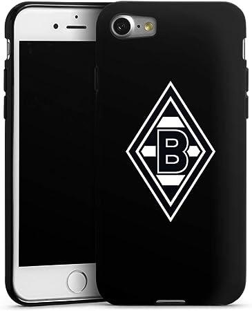 deindesign silikon hulle kompatibel mit apple iphone 7 case schwarz handyhulle wappen borussia monchengladbach gladbach