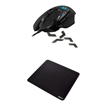f5953977691 Logitech G502 Proteus Spectrum RGB Tunable Gaming Mouse and AmazonBasics  XXL Gaming Mouse Pad