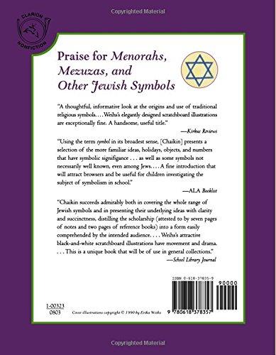 Menorahs Mezuzas And Other Jewish Symbols Miriam Chaikin Erika