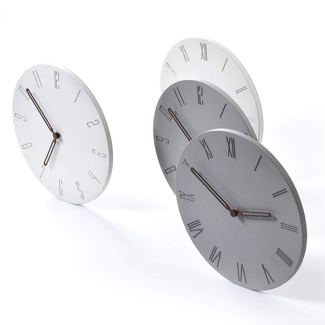 Amazon.com: Wallohere - Reloj de pared silencioso, no se ...