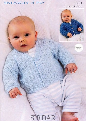 Sirdar Snuggly 4ply Baby Knitting Pattern 1373 Amazon