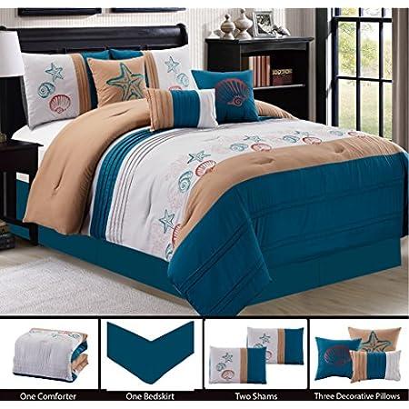 51%2Bs6eJ9rvL._SS450_ Seashell Bedding and Comforter Sets