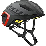 Scott Cadence Plus Helmet Dark Grey/Red, M For Sale
