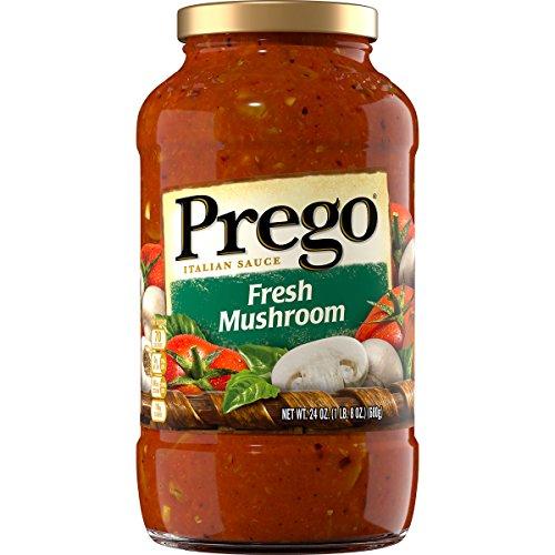 Prego Tomato Sauce - Prego Fresh Mushroom Italian Sauce, 1 lb 8 oz