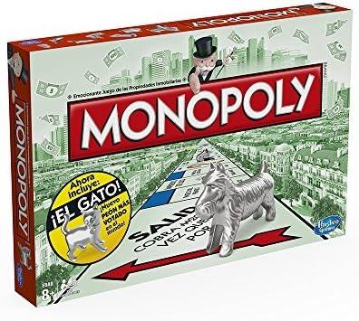 Monopoly Hasbro Gaming - Juego de Mesa clásico, versión española (Hasbro 00009546): Amazon.es: Juguetes y juegos