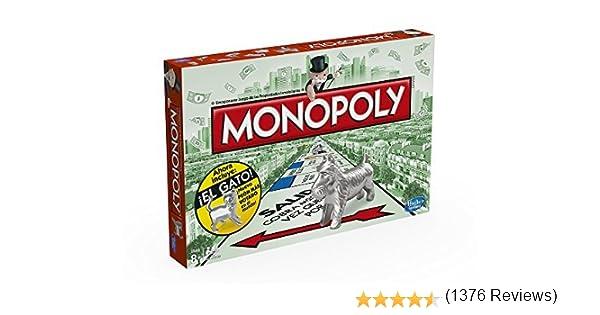 Monopoly Hasbro Gaming - Juego de Mesa clásico, versión española ...