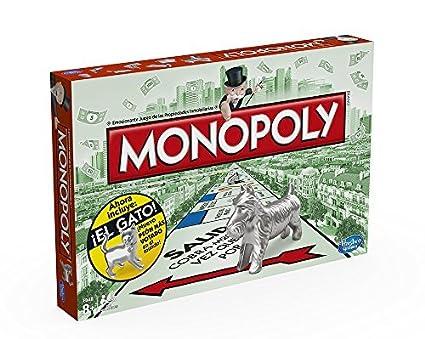 Monopoly Hasbro Gaming Juego De Mesa Clasico Version Espanola
